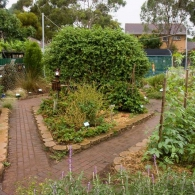 огород в неформальном стиле