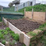 террасирование сада