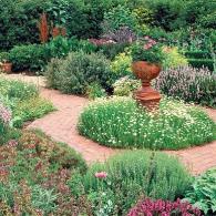 регулярный пряный сад