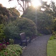 место для отдыха в саду