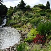 Каменистый сад в Эдинбурге