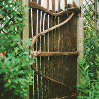 деревянная калитка