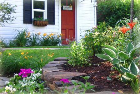 дом в саду_фото
