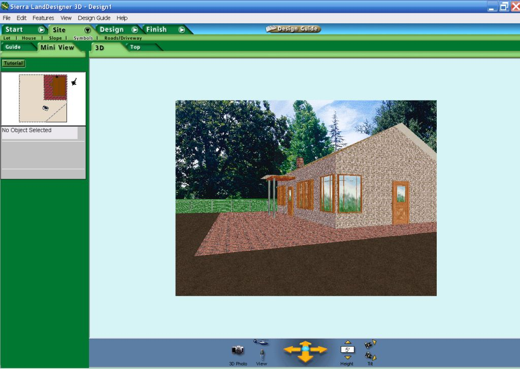 3D моделирование ландшафта