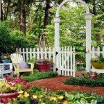 ограда садовая