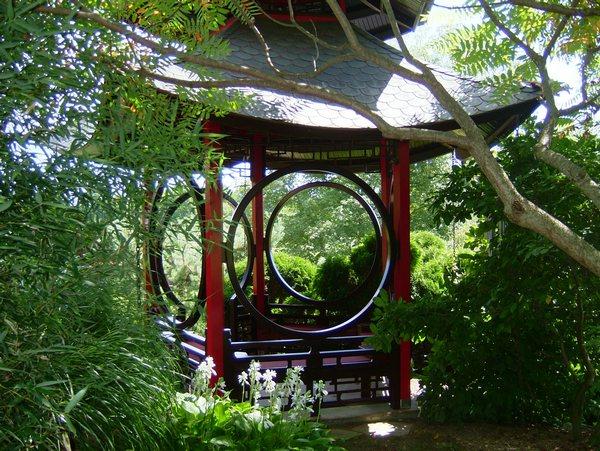 Садовая беседка_китайский стиль