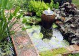фонтаны в саду
