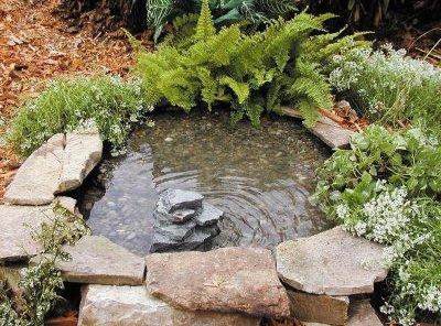 садовый фонтан_фото