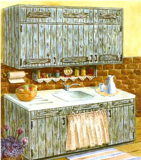реставрация старой мебели своими руками_картинки